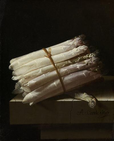 Adriaen Coorte Still Life with Asparagus