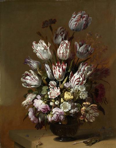 Hans Bollongier Floral Still Life