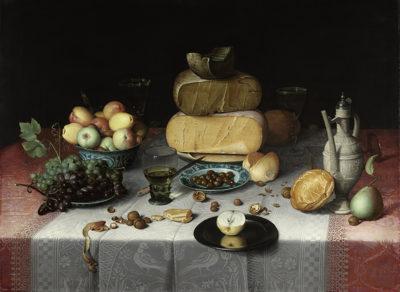 Floris Claesz. van Dijck Still Life with Cheese