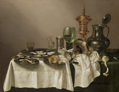 Willem Claesz. Heda Still Life with a Gilt Cup