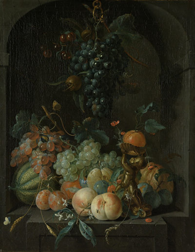 Coenraet Roepel Still Life with Fruit