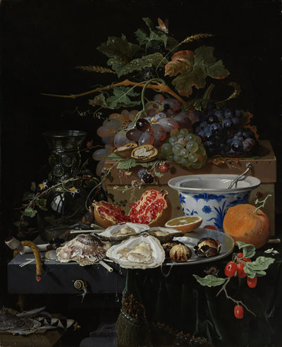 Abraham Mignon Still Life with Fruit