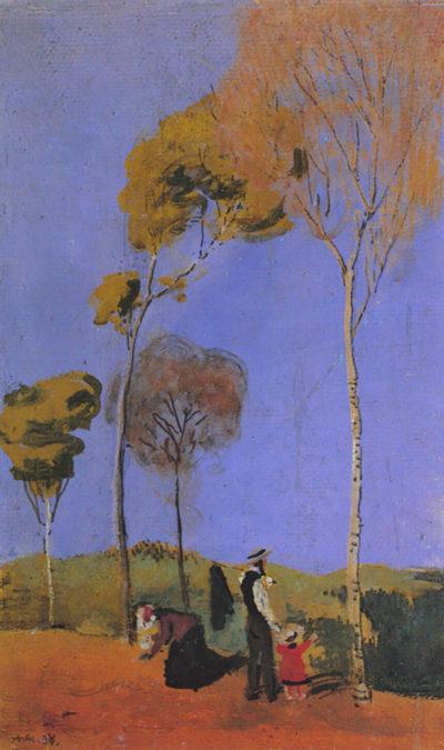 August Macke Stroller