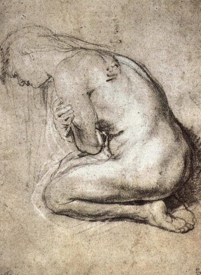 Peter Paul Rubens Study of Mary Magdalene