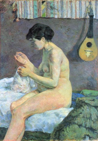 Paul Gauguin Study of a Nude