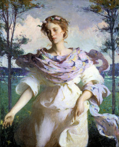 Frank Weston Benson Summer