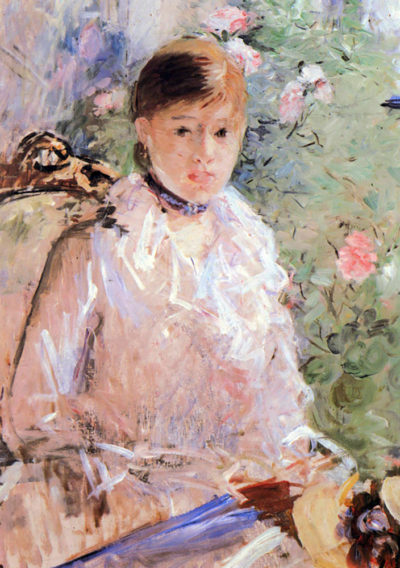 Berthe Morisot Summer (Young woman at the window)