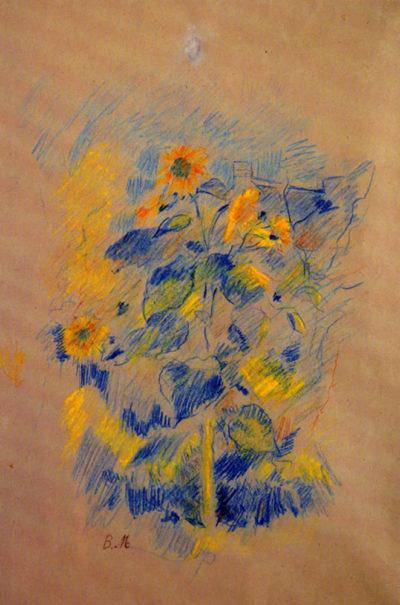Berthe Morisot Sunflowers