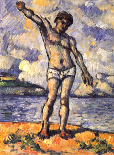 Paul Cézanne Swimmer with outstretched arms