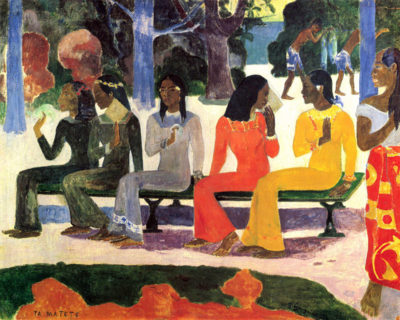 Paul Gauguin Ta Matete