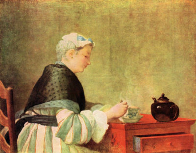 Jean Chardin Tea Drinker