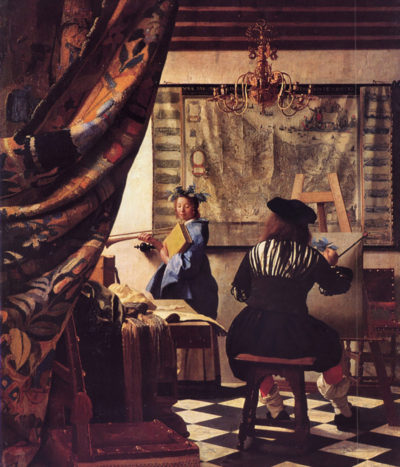 Johannes Vermeer The Allegory of Painting
