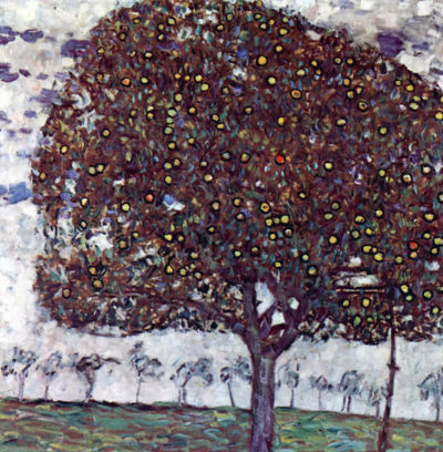 Gustav Klimt The Apple Tree