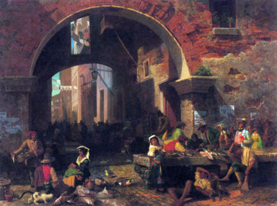 Albert Bierstadt The Arc of Octavius