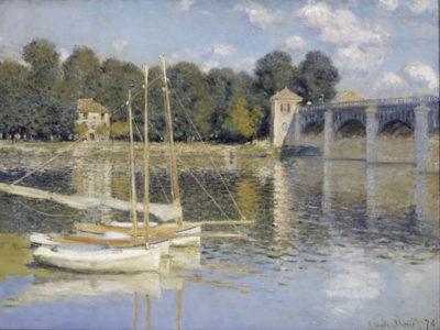 Claude Monet The Argenteuil Bridge