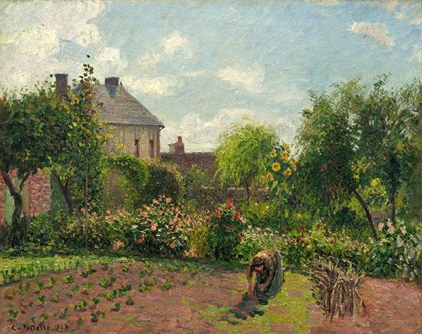 Camille Pissarro The Artist's Garden at Eragny