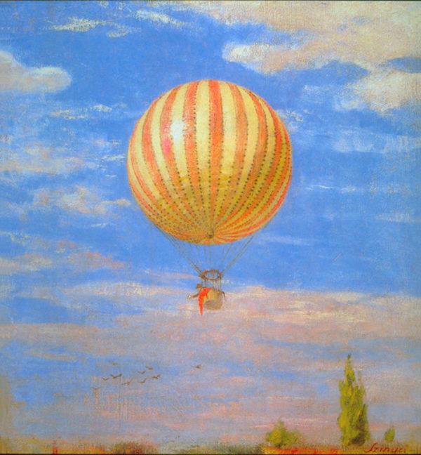 Pál Szinyei Merse The Balloon
