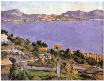 Paul Cézanne The Bay of Marseille seen from L'Estaque 1878