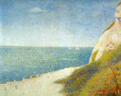 George Seurat The Beach
