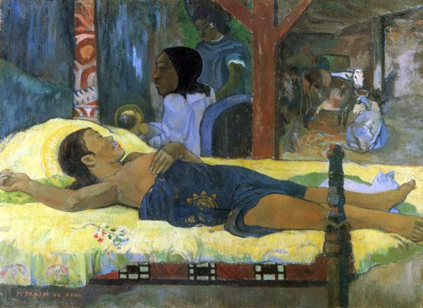 Paul Gauguin The Birth - Te tamari no atua