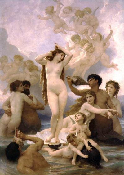 William-Adolphe Bouguereau The Birth of Venus