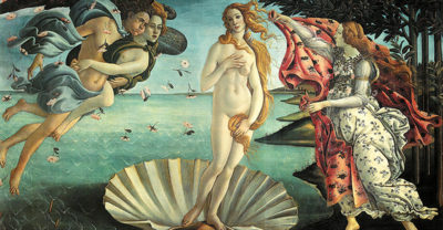 Sandro Botticelli The Birth of Venus
