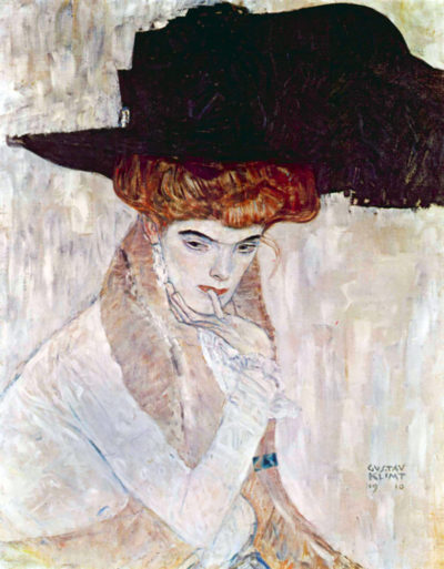 Gustav Klimt The Black Hat