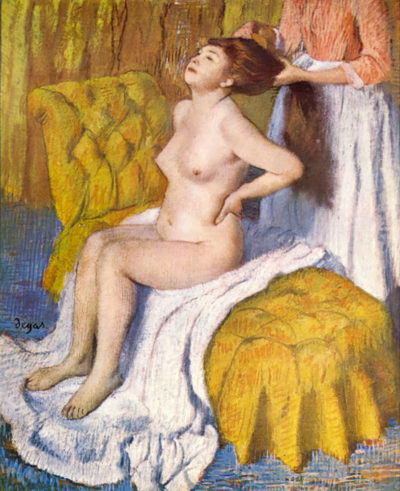 Edgar Degas The Body Care
