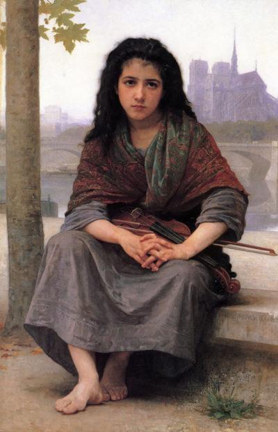 William-Adolphe Bouguereau The Bohemian