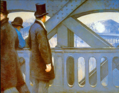Gustave Cailliebotte The Bridge of Europe