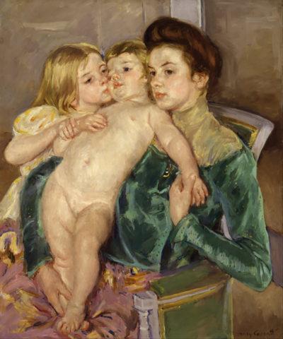 Mary Cassatt The Caress