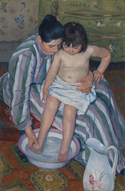 Mary Cassatt The Child's Bath