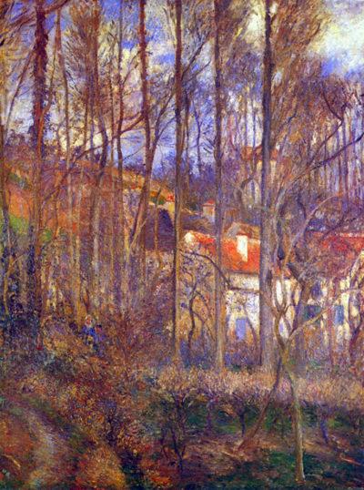 Camille Pissarro The Cote Des Boeurs At L'Hermitage