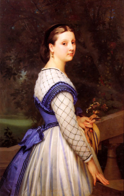William-Adolphe Bouguereau The Countess de Montholon