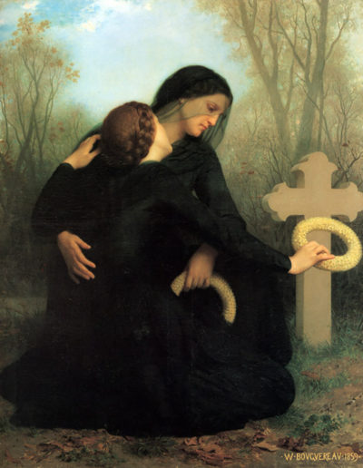 William-Adolphe Bouguereau The Day of the Dead