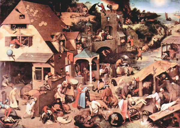 Pieter Bruegel The Dutch proverbs