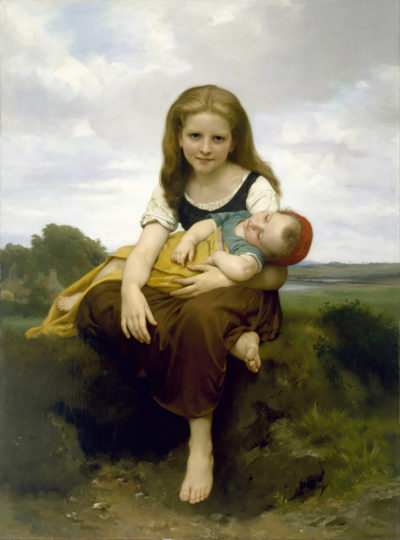 William-Adolphe Bouguereau The Elder Sister
