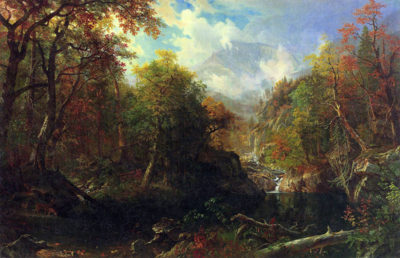Albert Bierstadt The Emerald pond