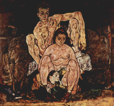 Egon Schiele The Family
