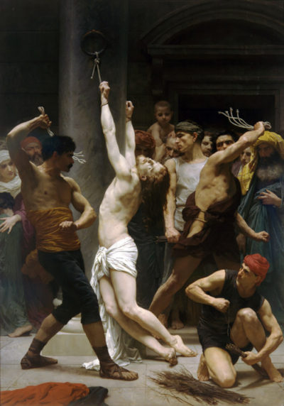 William-Adolphe Bouguereau The Flagellation of Our Lord Jesus Christ