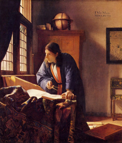 Johannes Vermeer The Geographer