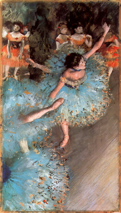Edgar Degas The Greens dancers