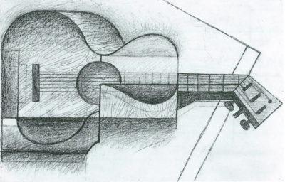 Juan Gris The Guitar