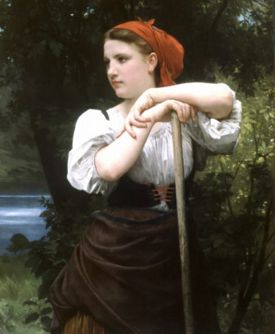 William-Adolphe Bouguereau The Haymaker