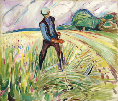 Edvard Munch The Haymaker
