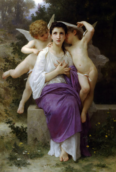 William-Adolphe Bouguereau The Heart's Awakening