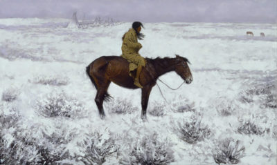 Frederic Remington The Herd Boy