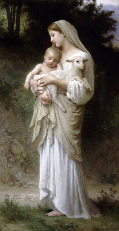 William-Adolphe Bouguereau The Innocence