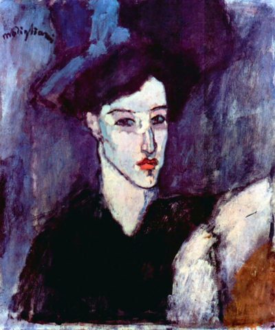 Amedeo Clemente Modigliani The Jewess