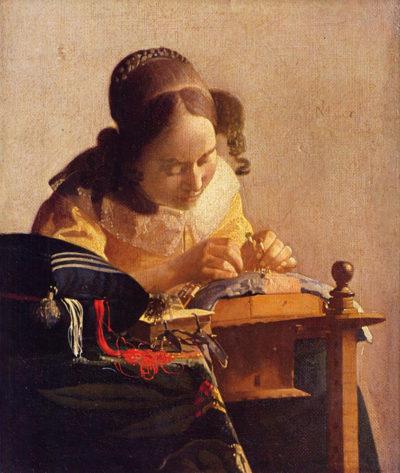 Johannes Vermeer The Lacemaker